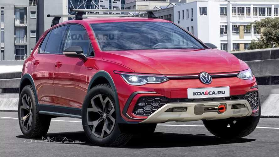 VW Golf Country Rendering Imagines The Rugged Hatchback's Comeback