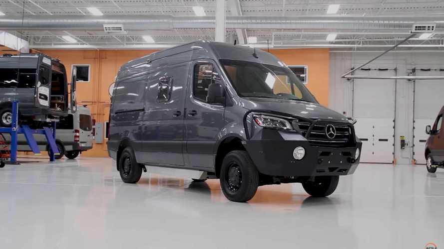 Esta Mercedes-Benz Sprinter camper luce una preparación extrema