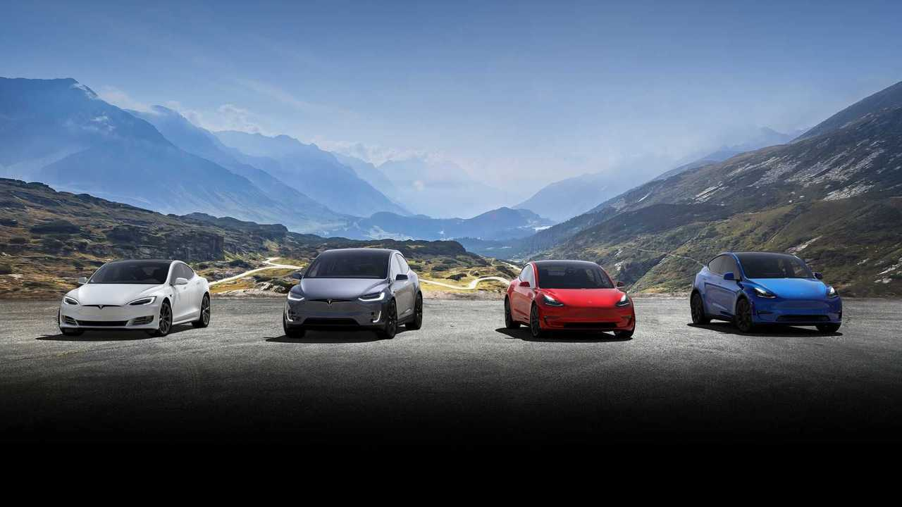 Tesla Model Range