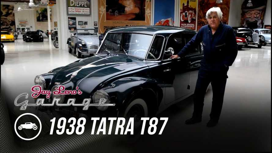 Weird And Awesome Air-Cooled, V8 Tatra T87 Visits Jay Leno's Garage