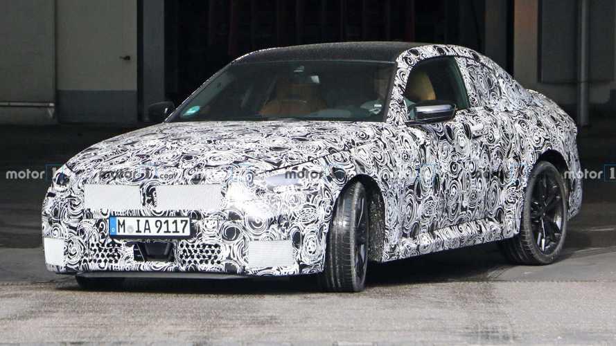 2022 BMW 2 Series Coupe spy photos