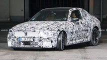 2022 BMW 2 Series Coupe spy photos