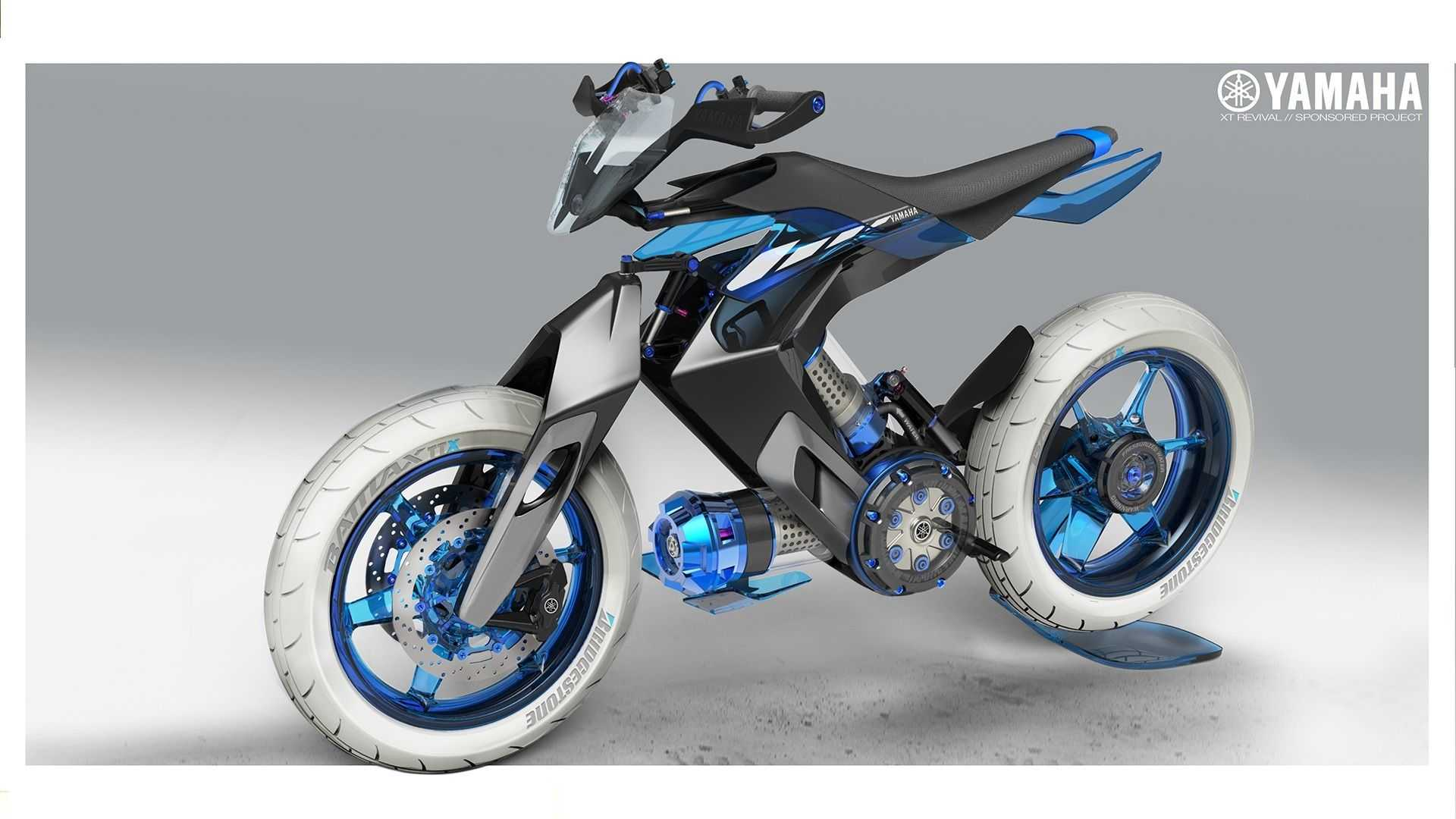 Yamaha XT 500 H2O Concept Imagines Pure Water Power For 2025
