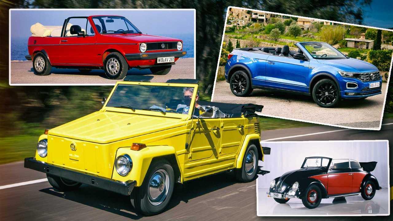 Die Geschichte der Cabriolets bei VW