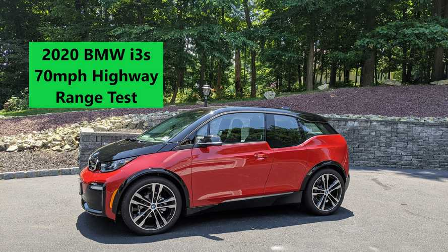 BMW i3s 70 MPH Highway Range Test: How Far Does It Go?
