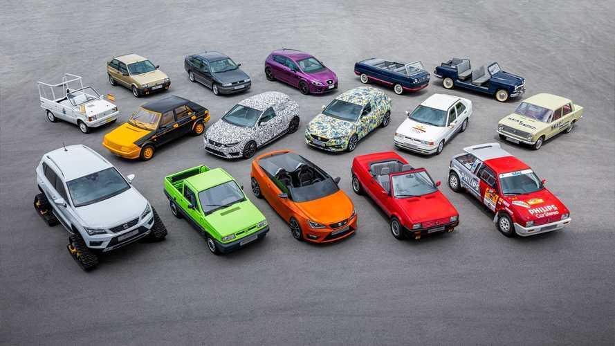 SEAT'ın daha önce hiç duymadığınız otomobillerine bir göz atın!