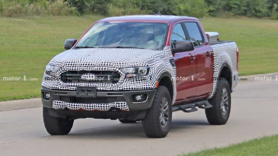 Ford Ranger Tremor Edition Spied On The Road