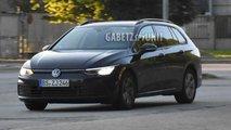 Volkswagen Golf Variant 2021 - Novos flagras