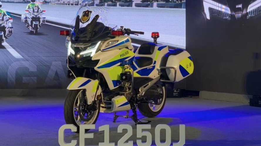 Benelli BJ1200J, le prime immagini arrivano dalla polizia cinese