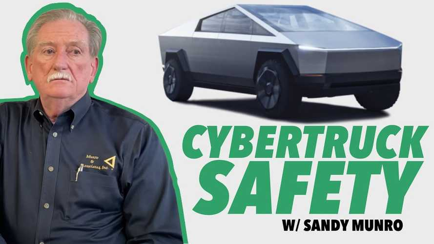 Sandy Munro Addresses Tesla Cybertruck Exoskeleton Safety Concerns