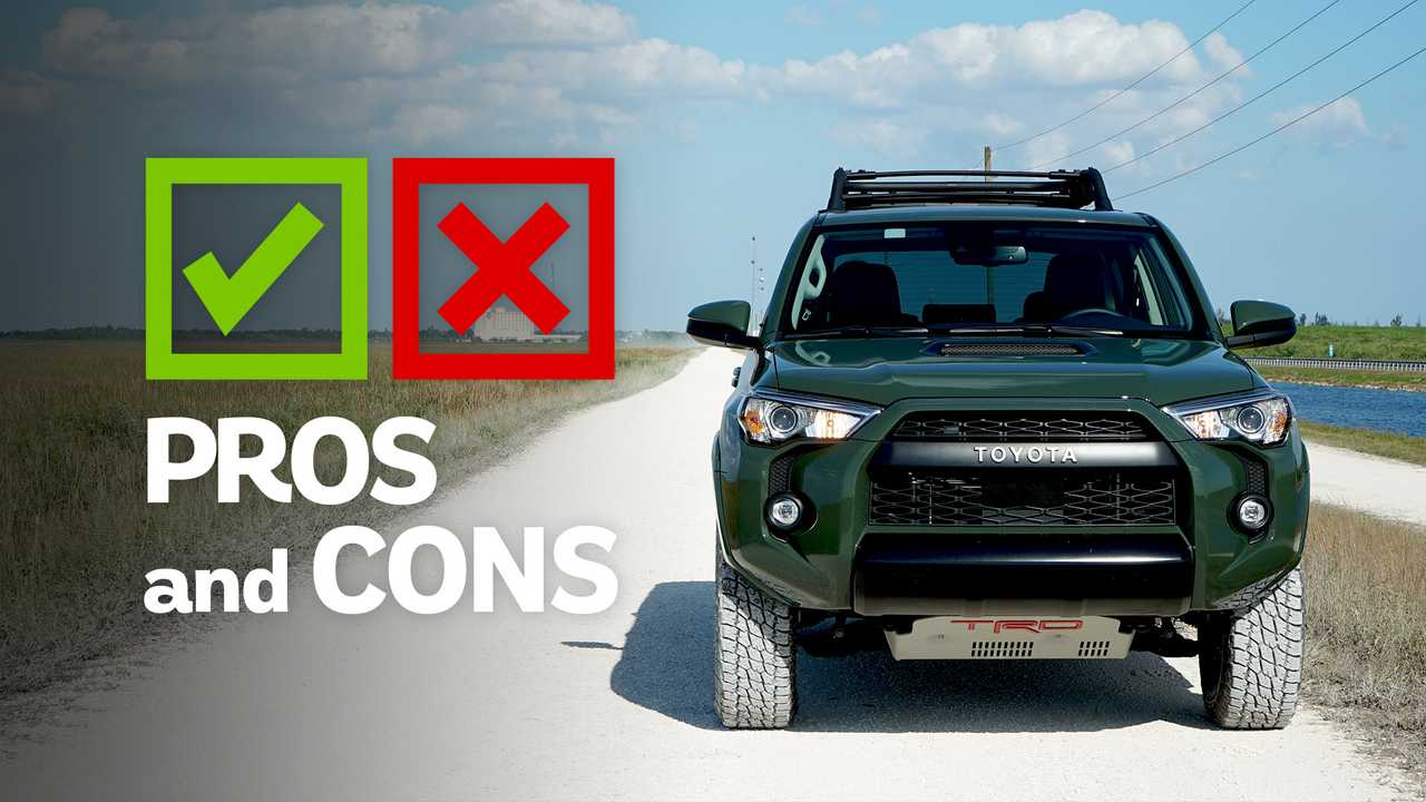 2020 Toyota 4runner Trd Pro Pros And Cons