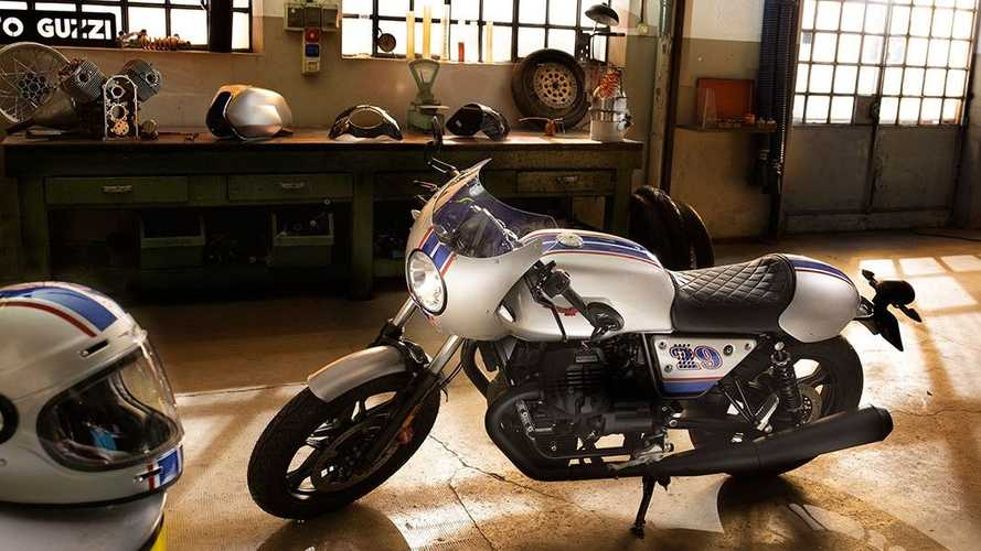 Moto Guzzi Introduces Custom V7 III Café Racer Kits