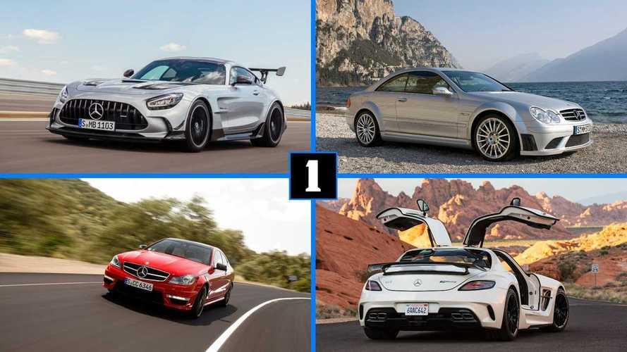 Посмотрите на все 6 суперкаров Mercedes-AMG Black Series