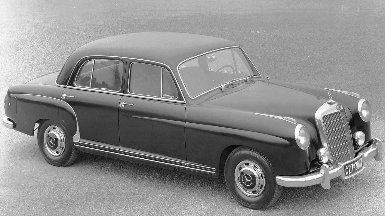 Mercedes-Benz Ponton (W105, W120, W121, W128, W180) (1954 - 1959)