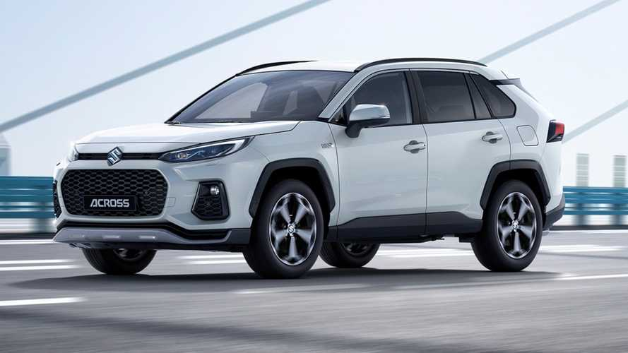 Suzuki Across debuts as rebadged Toyota RAV4 PHEV for Europe