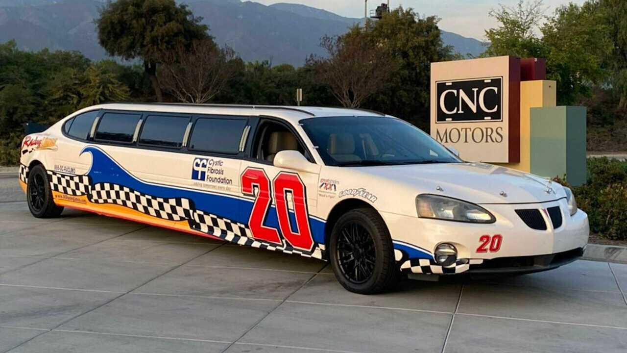 2004 Pontiac Grand Prix NASCAR Limo For Sale