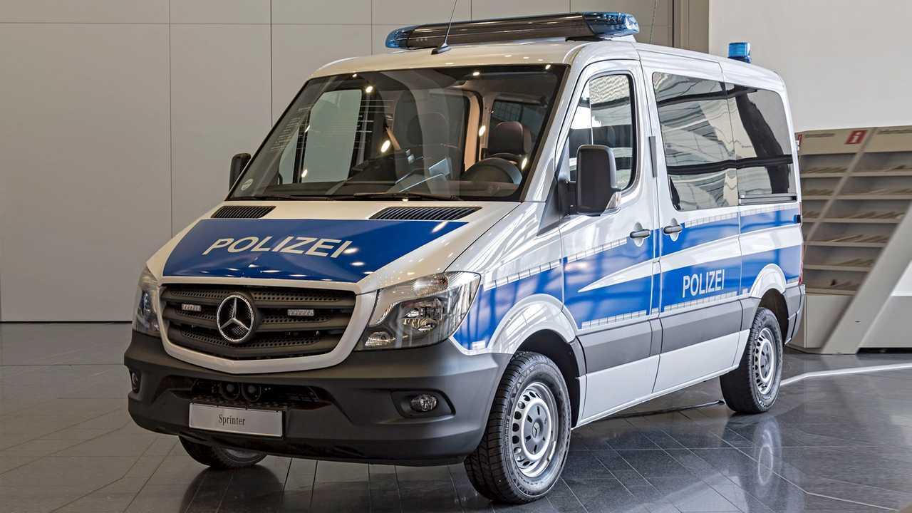 Polizeiautos in Deutschland: Mercedes Sprinter