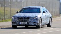 2021 Mercedes S-Class Guard spy photos