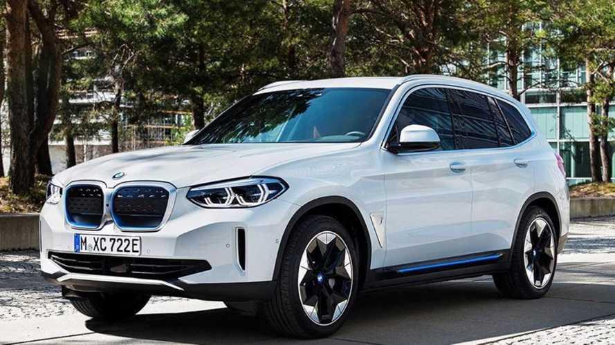 BMW iX3 - Voici la première photo du SUV électrique