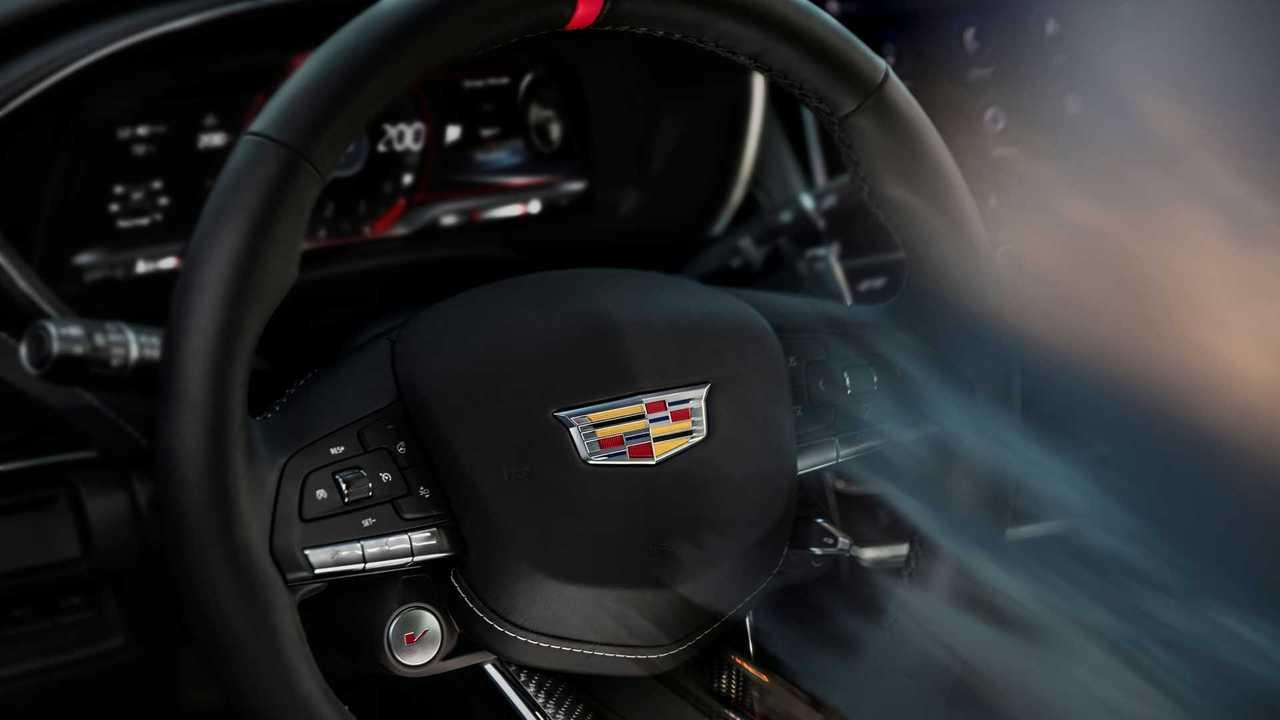 Cadillac Blackwing Steering Wheel