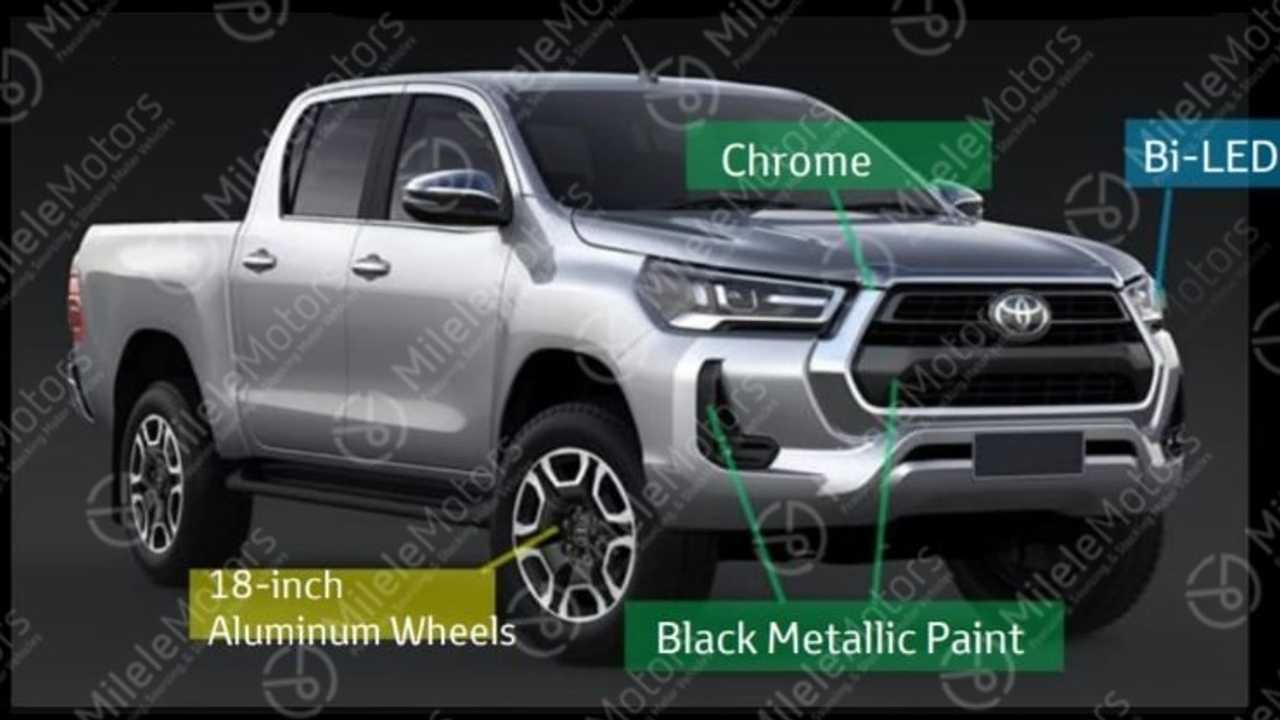 2021 Toyota Hilux (not confirmed)