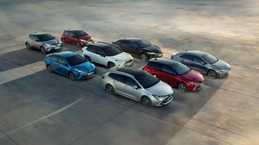 Toyota anuncia 40 lançamentos de veículos eletrificados até 2025