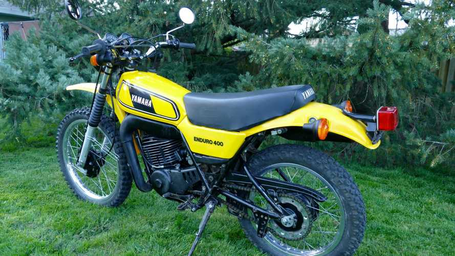 This 1978 Yamaha DT400 Is Almost Too Clean For A Dirt Bike