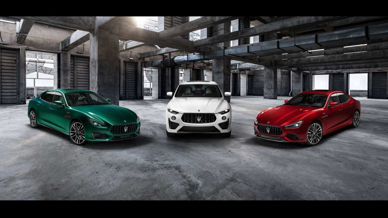 Линейка Maserati Trofeo (2020)