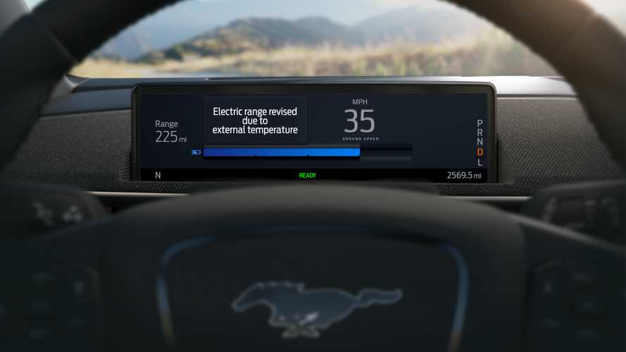 Ford Mustang Mach-E Intelligent Range Estimator Aims To Improve Upon Tesla's
