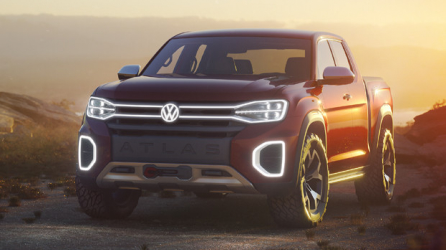 Volkswagen Atlas Tanoak, il pick-up per gli USA