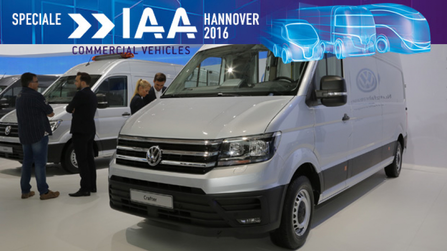 IAA Hannover 2016, Crafter è Van of the Year 2017