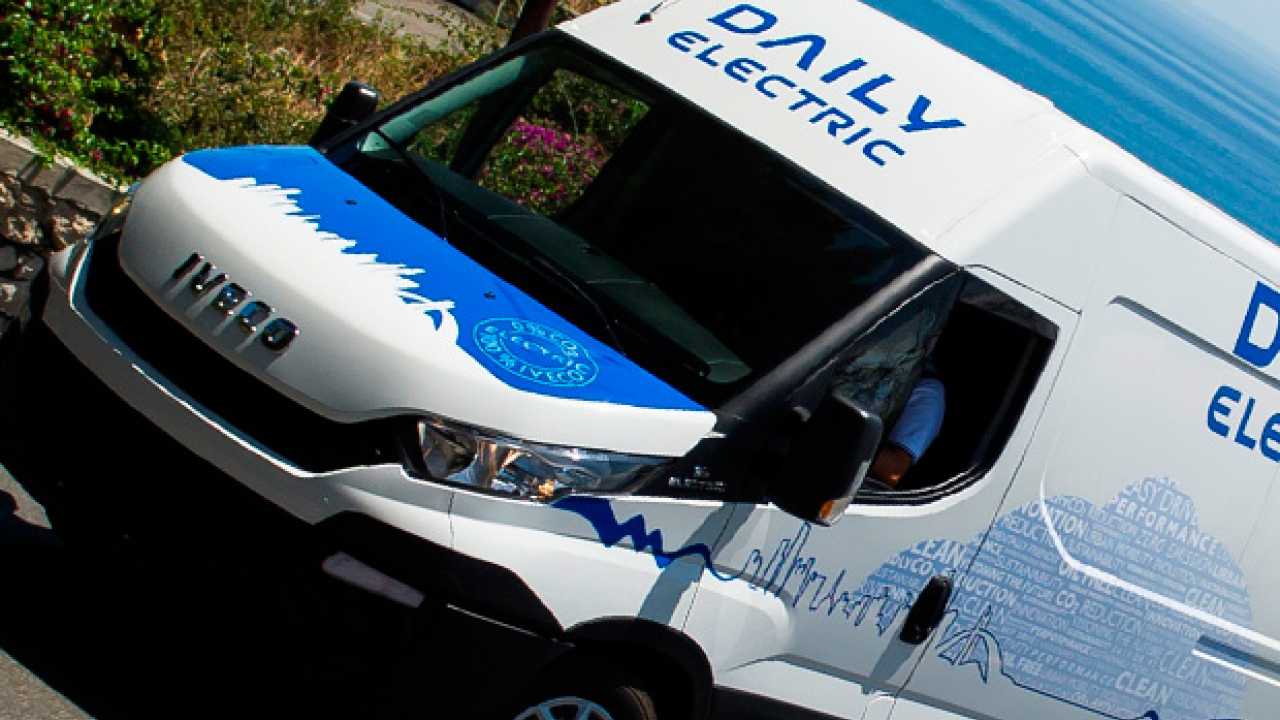 Nuovo Iveco Daily Electric