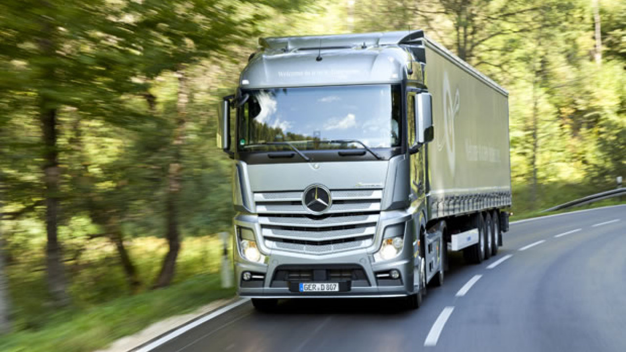 Actros IV è Truck of the Year 2012