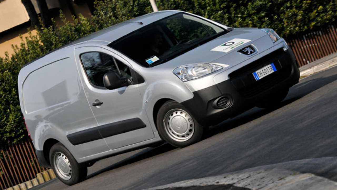 Peugeot Partner, low emission van