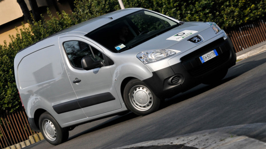Peugeot Partner, low emission van