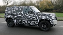 Land Rover Defender Spy Photo