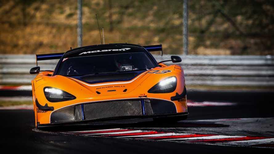 McLaren 720S: la GT3 farà il suo esordio in Medio Oriente