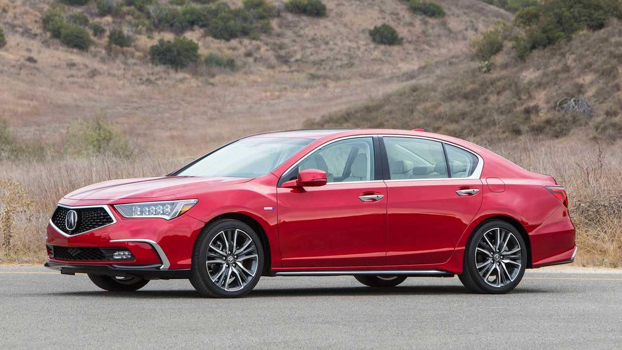 9. Acura RLX: 1,931 units