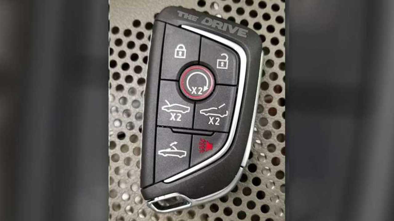Mysterious Cadillac Key Fob