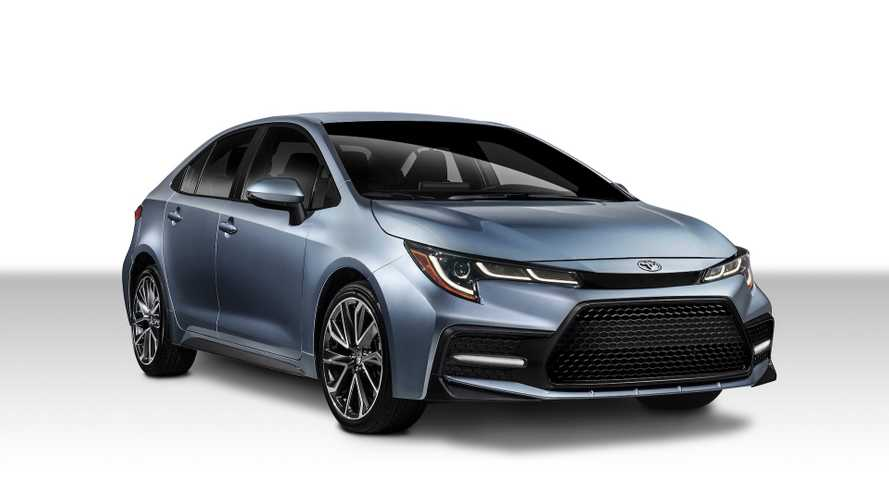 2020 Toyota Corolla saloon revealed with more style and safety