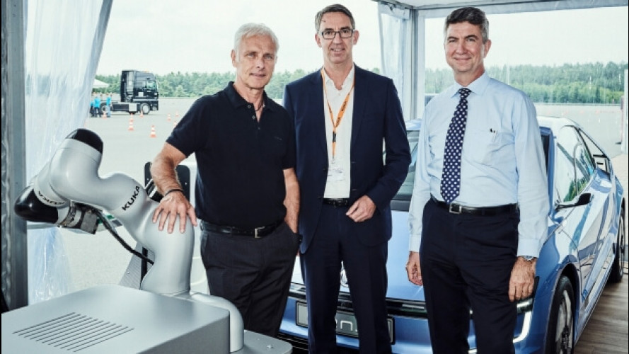 Gruppo Volkswagen, firmato l'accordo pro-robot