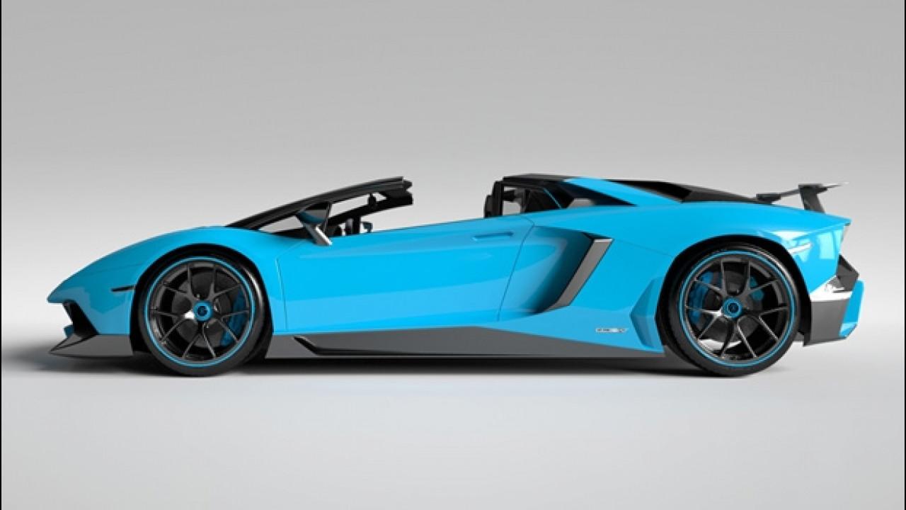 [Copertina] - Vitesse AuDessus, solo fibra di carbonio per la Lamborghini Aventador