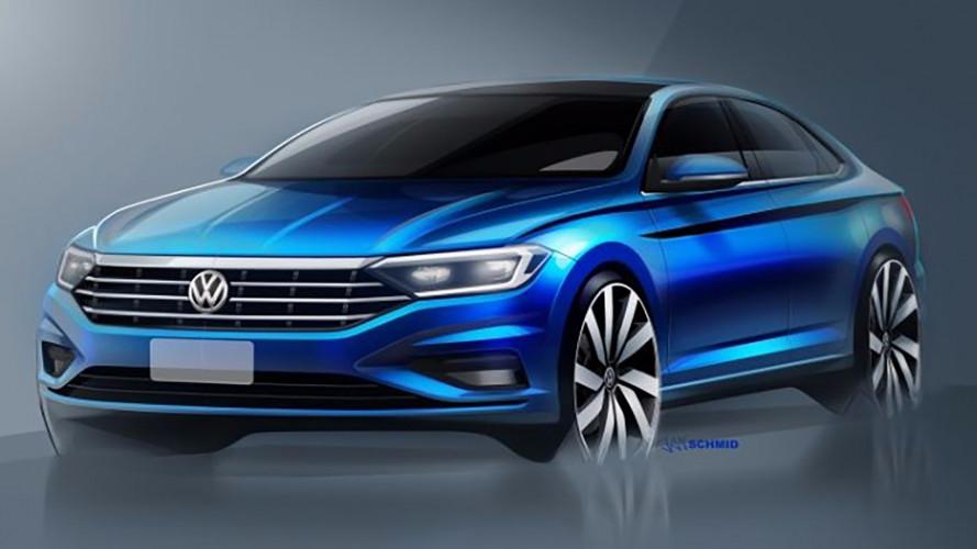 Volkswagen Jetta, a gennaio la nuova generazione