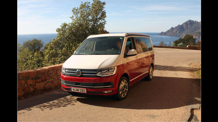 "Im Test: VW California Ocean ""Red"""