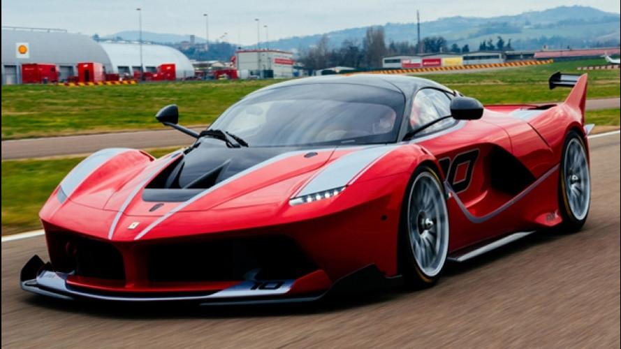 [Copertina] - Ferrari FXX K, design da