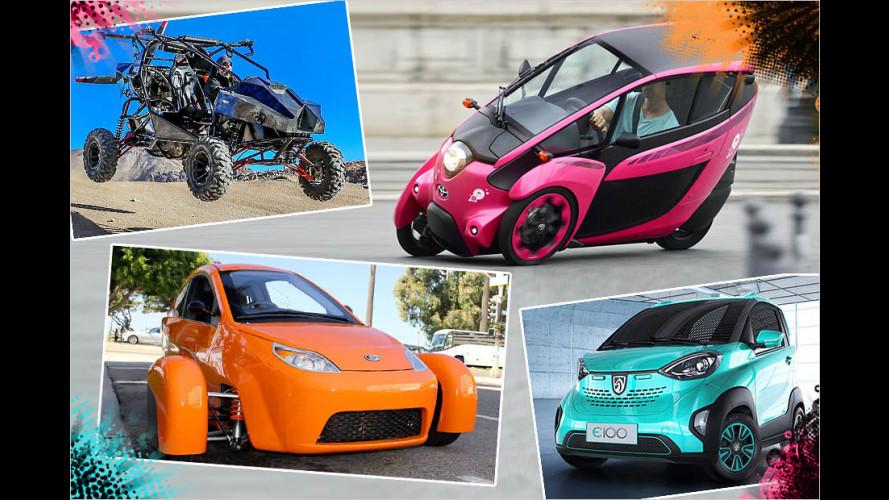 Diese Gefährte wollen Autos sein?