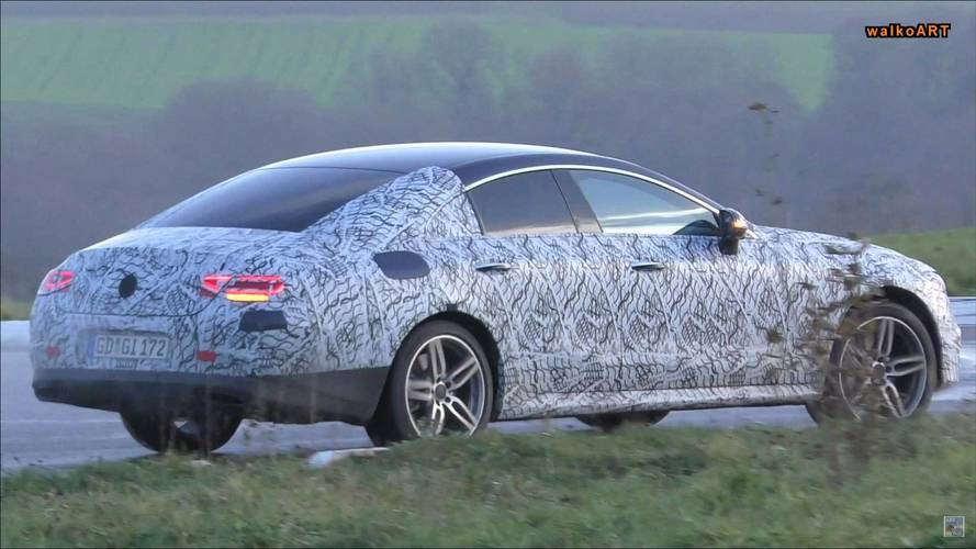 New Mercedes-AMG CLS 53 Spied On Street Hiding Aero Tweaks