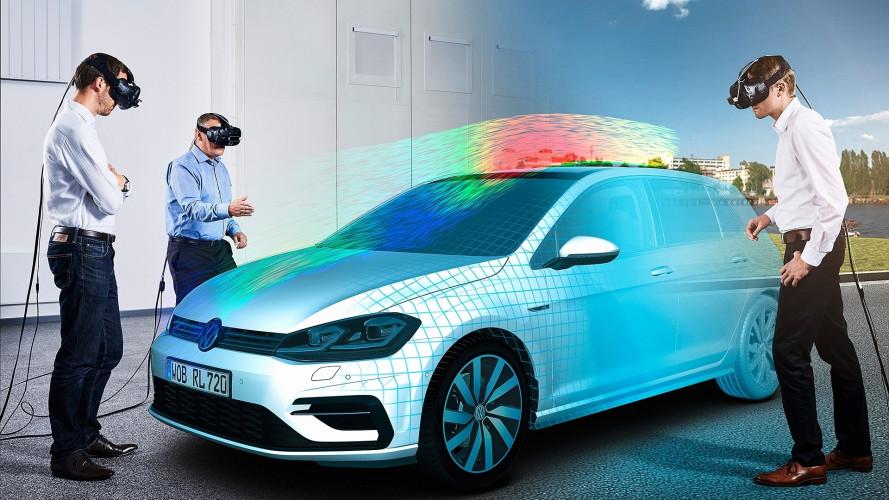 Nuova Volkswagen Golf, nella realtà virtuale esiste già