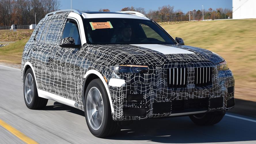 BMW X7, al via la produzione negli USA