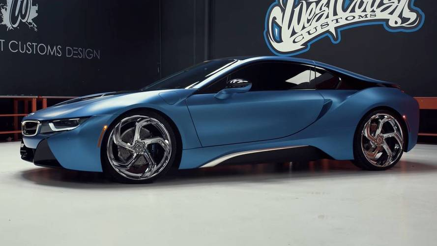 West Coast Customs Shows Off BMW i3, i8